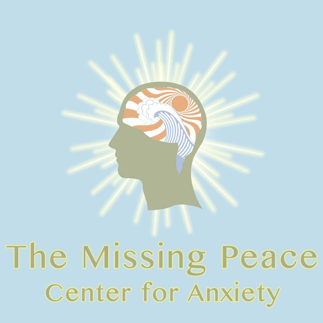 The Missing Peace Center for Anxiety Logo